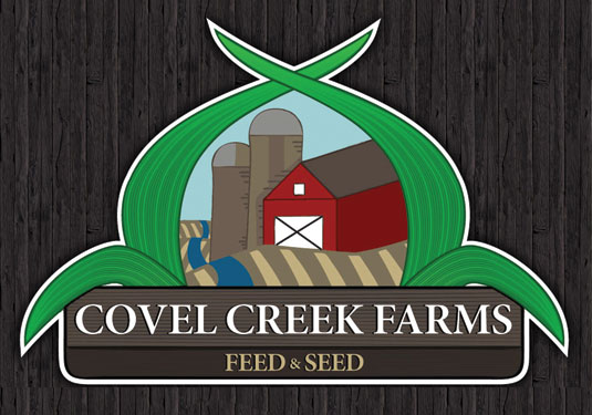 Covel Creek Farms Logo designed by Neselo LLC